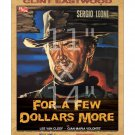 Clint Eastwood - A Few Dollars More #1  - 11x14 inch Vintage Film Movie Poster
