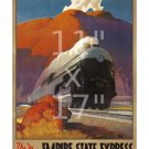 New York Central RR - Empire State Express - 11x17 inch Vintage Travel Poster