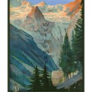 Trafoi Passo Della Stelvio Vintage Travel Poster [4 sizes, matte+glossy avail]