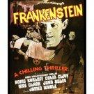 Frankenstein #4 - Vintage Film Movie Poster [4 sizes, matte+glossy avail]