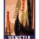 Venezia #1 - Vintage Italian Travel Poster [6 sizes, matte+glossy avail]