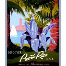Puerto Rico #2 - Where Americas Meet Travel Poster [4 sizes, matte+glossy avail]