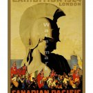 1924 British Empire Exhib Vintage Travel Poster [6 sizes, matte+glossy avail]