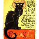 Cabaret du Chat Noir - Vintage French Poster/Print [6 sizes, matte+glossy avail]