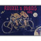 Rouxel & DuBois - 11x17 inch Vintage bicycle advertisement poster/print.