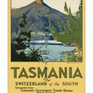 Tasmania Switzerland of the South Travel Poster [4 sizes, matte+glossy avail]