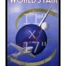 Eastern Airlines - 1939 NY Worlds Fair #1 - 11x17 inch Airline Travel Poster