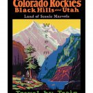 Colorado Rockies & the Black Hills Railroad Poster [4 sizes matte+glossy avail]