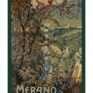 Merano - Vintage Italian Travel Poster [4 sizes, matte+glossy avail]