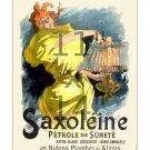 Saxoleine 1894 - 11x14 Vintage French Jules Cheret Art Nouveau Poster Print