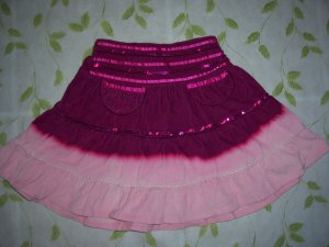 Girl's corduroy skirt