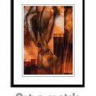 Masculine Montage - Artamatik Framed Print