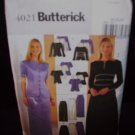 *Butterick Pattern #4021, misses/petite top and skirt, size 20, 22, 24