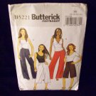 Butterick Pattern #B5221, pants size 8, 10, 12, 14