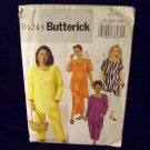 **Butterick Pattern #4243womens/petite, top, skirt, pants,  size 28W, 30W, 32W