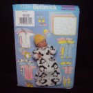 Butterick Pattern #5220  Infants bunting set, jumpsuit, bib, mitten,s booties, blanket.