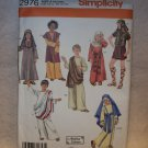 COSTUMES SIMPLICITY  Pattern #2976 Boys and girls costume size xs-l