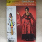 SIMPLICITY  Khaliah Ali Collection Costumes Pattern #2837 women size 18w-24w