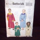 **Butterick Pattern #4542,Childrens/boys/girls, robe and collar size med-large