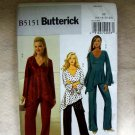 **Butterick Pattern #5151 Misses/Misses petite tunic and pants, size 16, 18, 20, 22