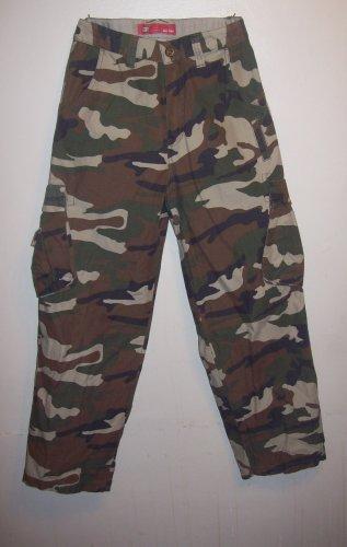"Army fatigue/camoflage Pants Size Boys 8, ""Faded Glory"""