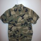 Children Army fatigue/camouflage unisex shirt by Drill, large
