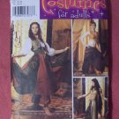DANCE  PATTERN SIMPLICITY  Pattern #5359 adult, with top, skirt, veil, size  14, 16, 18, 20