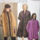 **Butterick Pattern #B4943, womens Coat, loose fitting front coat size, 18w, 20w, 22w, 24w