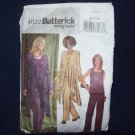 **Butterick Pattern #4022, size 20, 22, 24,  misses/misses petite jacket, top and pants,