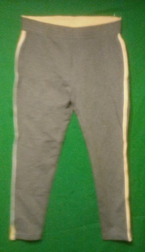 Spandex Excercise Pants, size small  (6-8) grey and yellow