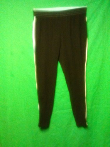 Spandex Excercise Pants, size xl  (16-18) black and turquoise