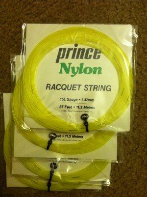 Prince Nylon Racquet String 15L Guage Tennis String
