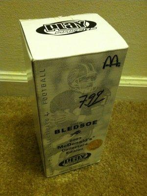 Drew Bledsoe 2003 McDonald's Collectors Edition Bobblehead Bobble Head