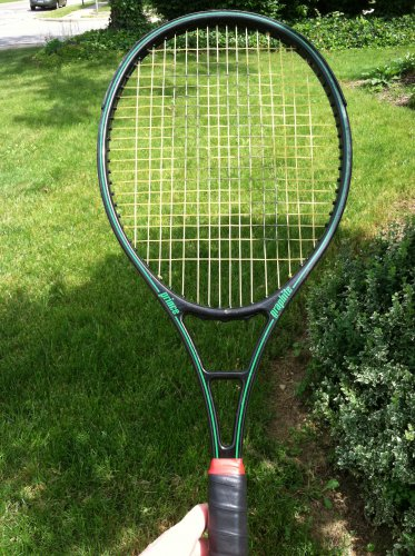 Prince Graphite Series 110 4 1/2 Grip Tennis Racquet, Racket, Raquet