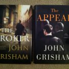 John Grisham lot of 2 Fiction Thriller Hardcover books