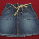 GAP KIDS STRETCH DENIM SKIRT SIZE 10 (BNWT)