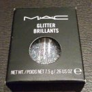"MAC COSMETICS ""3D SILVER"" GLITTER BRILLIANT PIGMENT"