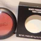 "MAC ""SERENELY"" BEAUTY POWDER BLUSH"
