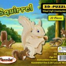 3D PUZZLES - SQUIRREL