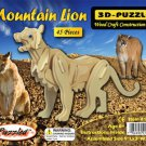 3D PUZZLES - MOUNTAIN LION