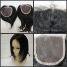 "Brazilian virgin hair Lace Closure 18"" (4 x 4)"