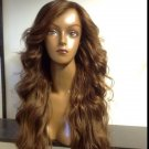"100% Human Virgin Hair full lace wig 20"" body wave"