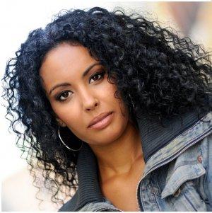 """100% Peruvian Virgin Hair Extensions 14"""" (deep wave)"""