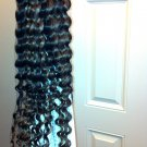 24 inches, Brazilian VIRGIN human Hair CLIP IN (mixed color #4 & #27