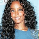 """100% Brazilian Virgin Hair Extensions 18"""" curly wave"""