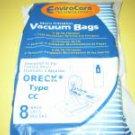 Oreck Type CC Upright Vacuum Cleaner Bags 58-2422-01