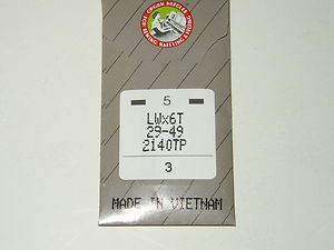 Organ Blindstitch Sewing Machine Needle 29-34-80