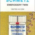Schmetz Sewing Machine Twin Embroidery Needle 1736