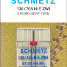 Schmetz Sewing Machine Twin Embroidery Needle 1737