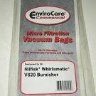 Nilfisk Whirlamatic VS20 Burnisher Commercial Vacuum Bags ECC391